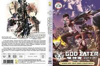 ANIME DVD God Eater(1-12End)English subtitle&All region FREE SHIPPING L6