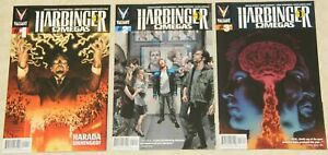 HARBINGER: OMEGAS (2014) Set # 1 - 3 NM (Valiant Comics) !!