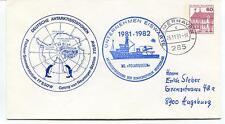 1981 Deutsche Antarktisstationen Georg Von Neumayer Station Antarctic Cover
