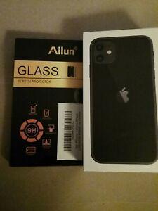 apple iphone 11 64gb T-Mobile Black open box