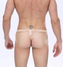 Manview Lowrise Net G Sheer Pouch Thong Underwear