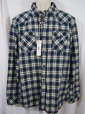 Diesel Swalkio Plaid Button Down Shirt Retail $158 Men's XL