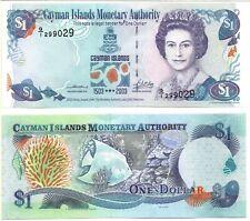 CAYMAN ISLANDS 1 Dollar (500th Anniversary) CV=$35.00, 2009. P-159, UNC  *RARE*