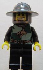 LEGO Castle Kingdoms Dragon Knight Quarters Gold Tooth cas487 Minifigure 7188