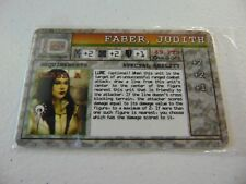 MECHWARRIOR WIZKIDS FABER, JUDITH SEALED NEW HC2335