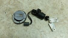 15 Triumph Tiger 800 XCX abs key and ignition lock set gas cap