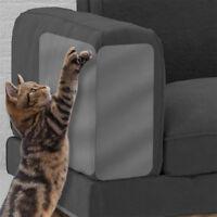 2X Pet Cat Scratch Guard Mat Cat Scratching Post Furniture Sofa Protector Clear