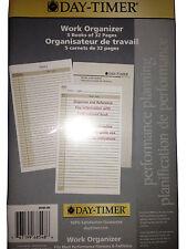 """Day-timer Work Organizer 5"""" x 8 1/2"""" (127 x 216mm)"""