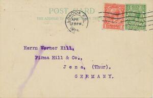 "GB ""LONDON F.S."" rare machine postmark POSTMARK-ERROR AUTOGRAPHED STAMP DEALER"