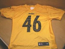 PITTSBURGH STEELERS 2017 TEAM ISSUED PRACTICE JERSEY  # 46 NIKE STEELERS JERSEY