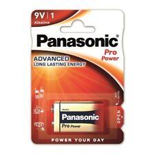 5 x Panasonic 9V Block E-Block Pro Power Alkaline  6LR22 Batterie - Spielzeug