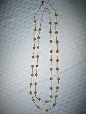 Necklaces with Gold Beads Stunning Vintage Matching Gold Chain