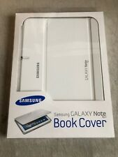 Original Samsung Galaxy Note 10.1 (2012) Book Cover White EFC-1G2NWECSTD