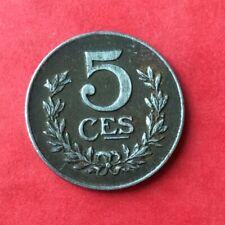 Luxembourg - Très Jolie  monnaie de 5 Centimes 1922
