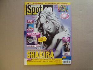 SHAKIRA rare SPOT ON import cover magazine Rupert Grint