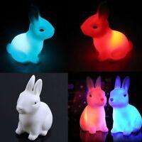 LED Night Light Rabbit Led Light For Home Party Decor LED Lamp Night Light
