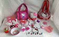 Hello Kitty Mixed Lot Bags Light Plush Bento Hanger Toys Walkie Talkies Speaker