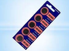 40 x Sony CR1620 Pila de botón de litio baterías 78mAh 3v 8blister