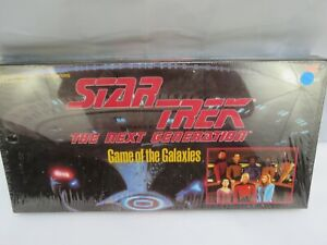 Star Trek The Next Generation Board Game of the Galaxies 1993 !