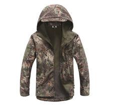 Kryptek Python Camo Shark skin Soft shell Tactical Hunting Winter Jacket / Coat