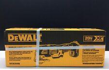 Dewalt DCS356B 20 volt 3 Speed Brushless Oscillating Multi Tool w 2 blades New