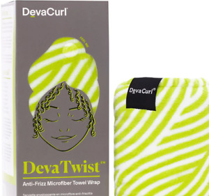DevaCurl DevaTwist Anti Frizz Microfiber Towel Wrap Deva Curl Twist Hair towel