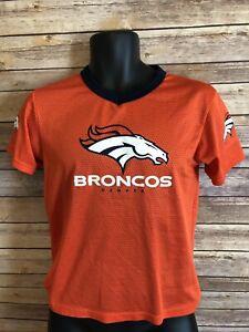 Franklin Denver Broncos Football Jersey Size Medium Boys Youth Girls Orange top