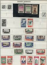 SPANISH  MOROCCO LOT / COLLECTION OF (30) STAMPS