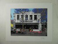 Günter Tabken Fotokunst Rastede Schloss Café 40x50cm signiert datiert O-3444
