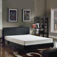"Swiss Ortho Sleep 8"" High-Density, 3 x Layered MEMORY FOAM MATTRESS, Queen Size"