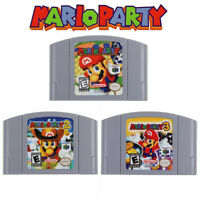 Mario Party 1/2/3 Video Game Cartridge Console Card US Version For Nintendo N64