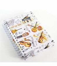 A6 Musical Instrument Notebook - Music Gift - Music Stationery for Students