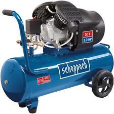 Scheppach Druckluft Kompressor 50L Luftkompressor 10bar 3PS DoppelzylinderHC53DC