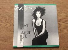 Whitney Houston Didnt We Almost Have It All 1987 German 3 Track CD Single