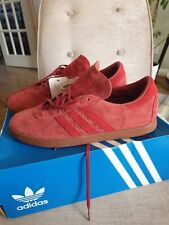 Stunning Adidas Tobacco Trainers Size UK10/ Fit UK9 read