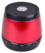 Jam Clásico Altavoz Portátil Inalámbrico Bluetooth Recargable de comandos de voz Rojo