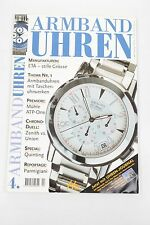 Armbanduhren 4/1999 ETA Mühle Zenith vs. Union Quinting Parmigiani