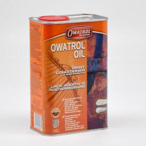 OWATROL ÖL, Oil 1 Liter Rostschutz Rostversiegelung Rostumwandler Auto Motorrad
