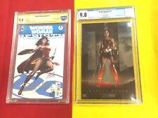 Wonder Woman #1 CBCS 9.8 2x Sign by Gal Gadot,Wonder Woman #31 CGC 9.8 NYCC Foil