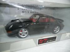 Porsche 911 997 Turbo Cabriolet 2007 Blue Grey Met MotorMax 1:18 MTM73183BG