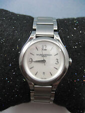 "BAUME MERCIER ILEA DIAMOND WATCH 8767 ""SWEET"""