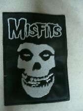 """Vintage embroidered Crimson Ghost Misfits patch 4.5""""x3"""""""