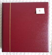 SAFE DUAL album reliure morocco favorit 14 anneaux Bordeaux 704-1 comme neuf (9)