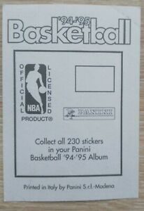 PANINI NBA Basketball 1994 1995 94 95 choose your stickers !