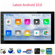 Android 10 Double 2-DIN Touchscreen Car Stereo GPS Bluetooth Multimedia Receiver