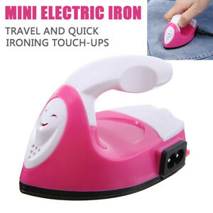 Mini  Electric Iron Portable Travel Crafting Clothes Ironing Sewing Accessories