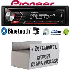 Pionero de radio de radio de coche para Citroen Xsara Picasso | Conjunto trasero Bluetooth USB MP3