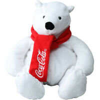 Coca-Cola Official Polar white Bear Head Cover of Golf Drive  Logo Scarf cute