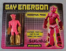SUCKADELIC Transformers GAY ENERGON RARE Custom Roddimus Pride SIGNED SUCKLORD