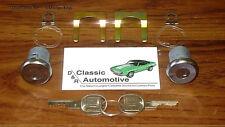 Door Lock Set 10pc Kit GM Key Camaro Chevelle Nova Corvette Impala Pickup locks
